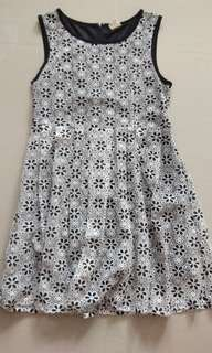 Lalu Formal/Casual Dress (Flowery Lacey)