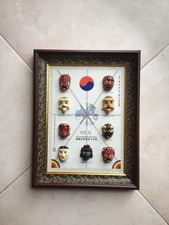 [BN] Korean Souvenir Mask Frame