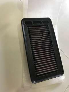 2mths old K&N filter for honda civic X 1.5T  FC1