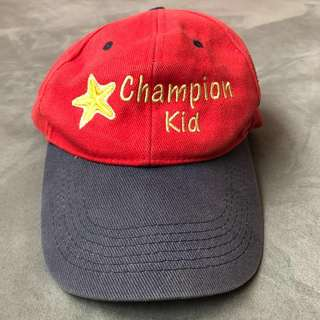 Kids Style : Champion Kid Unisex Cap