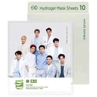 Hydrogel Mask Sheet Nature Republic EXO