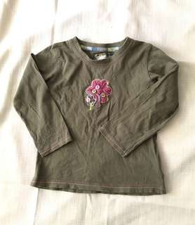 Charity Sale! Just For You by Nex Long Sleeve Baby Girl Shirt Size 1-1.5 yrs old 12 Months