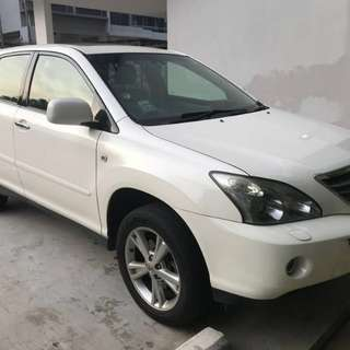 lexus RX400H hybrid (new battery)