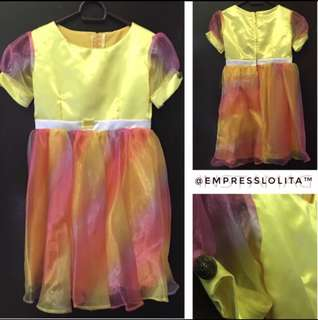 💐 Kid's / Girl's Rainbow Gown 💐
