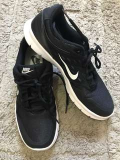 Nike Black Rubber Shoes