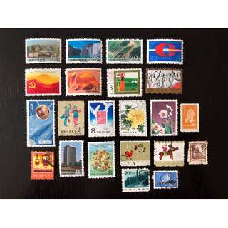 China assorted stamps