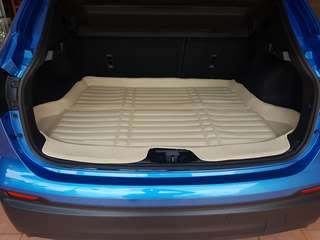 Qashqai bonnet leather mat