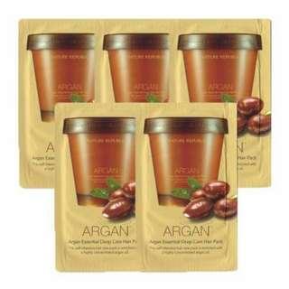 Argan Essential Deep Care Hair Pack 15ml