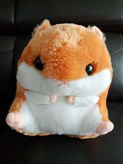 Hamster with blanket