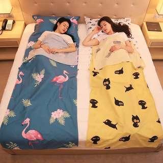 Portable travel bedsheet