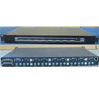 Belkin Omniview PRO2 8-Port KVM Switch P81041-A F1DA108T
