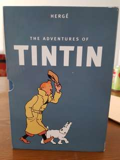Adventures of tintin box and collectors series