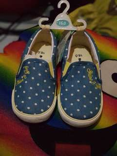 Unisex Dotted Blue Shoes