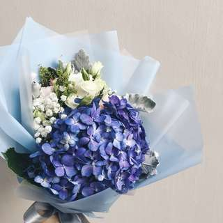Hydrangea Bouquet Mother's Day