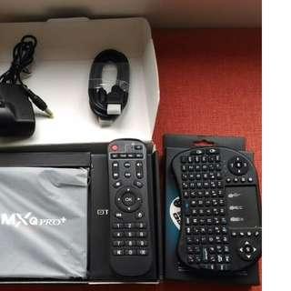 Brand New  MXQ Pro+ TV Box ★Android 6.0 ★RAM 2G  16G  + i8 mini keyboard