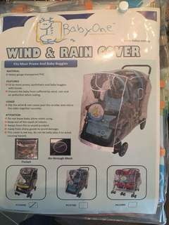 BabyOne Wind and Rain Cover