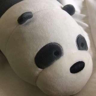 we bare bears panda plushie