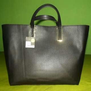 TOPSHOP Tote Bag Black