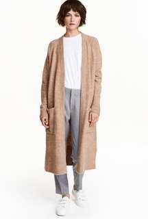 H&M chunky long cardigan