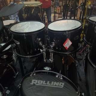 Drum Rolling JB 1026 Black Uk Dewasa Bisa Kredit Tanpa DP