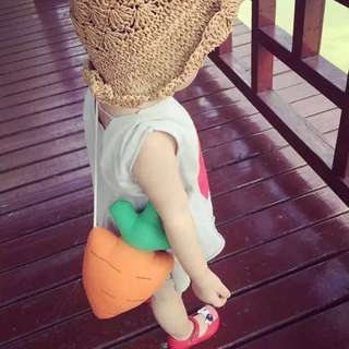 Cute carrot bag for kids