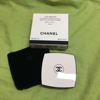 🚚 Chanel香奈兒米色時尚BB蜜粉餅N20