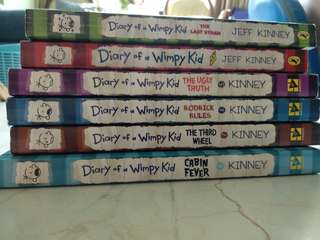 Diary of a Wimpy Kid (Jeff Kinney)