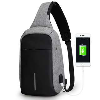 58% OFF Anti Theft Crossbody Bag free Data cable L080