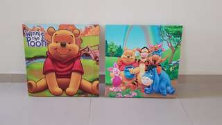 Canvas Painting pooh
