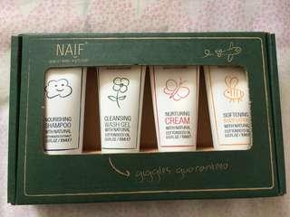 Brand New NAIF Baby Cream Gift Set