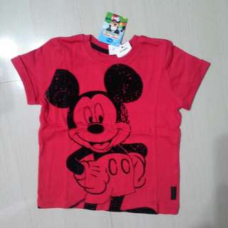 Brand NEW Boys Disney Mickey Tee