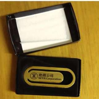 MTR ****金屬書簽**** 地鐵書簽 - 連原裝盒 - 絕版 MTR 地鐵公司