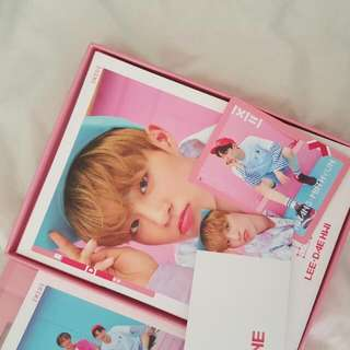 WTT/WTS Wanna One TBO Pink Ver.