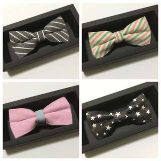 Bow Tie with Gift Box - Many Designs!