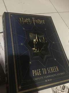 Harry potter page to screen - the complete filmmaking journey -
