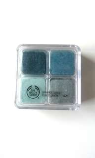 Body Shop eye shadow 4 warna
