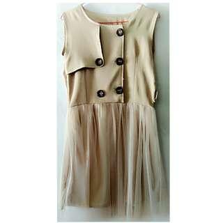 Preloved dress tutu impor