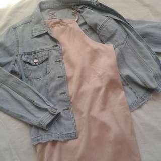 Slip-on Halter Dress