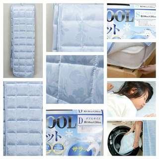 日本🇯🇵Cool mat 冷感床墊 (單人/雙人床)