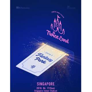 [CHEAPEST] TWICE VIP TICKETS