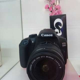 Canon 1300D DP 0% Cicilan Tanpa Kartu Kredit Proses Cepat 3menit