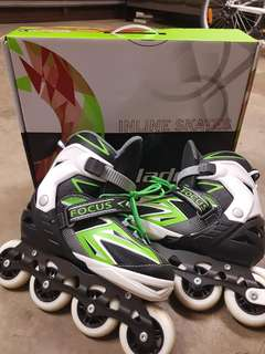 Blade X incline skates adjustable size 7-10
