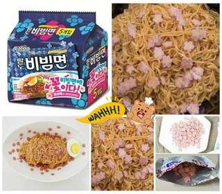 韓國Paldo櫻花🌸韓式冷拌麵 (5包/袋)