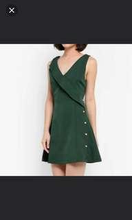 [PL] Zalora Green Dress