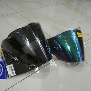 ARC RITZ Visor smoke & rainbow