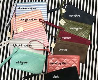 Pouch / Make up Kit / Wallet / Cellphone Pouch