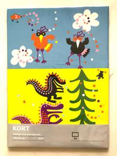 Ikea Kort Fantasy Animals Handicraft Art Paper Card Design New