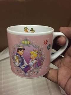 Vintage Tokyo Disney Resort Mug Original Mickey Minnie Mouse Special Cinderella