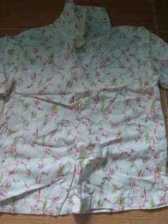 Preloved polo blouse for girls