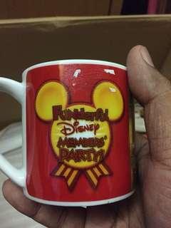 Vintage Tokyo Disney Resort Mug Original Mickey Minnie Mouse 2012